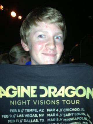 2013 - Night Visions Tour in Dallas, TX