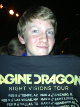 2013 - Night Visions Tour in Dallas, TX